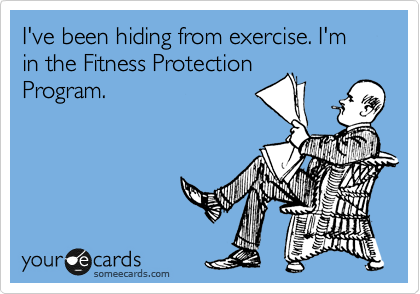 Im in the Fitness Protection Program
