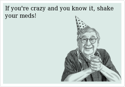 If you're crazy and you know it | Dobrador - Cards  If you're c...