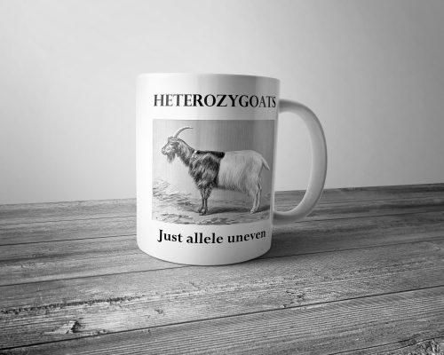 Heterozygoats Mug