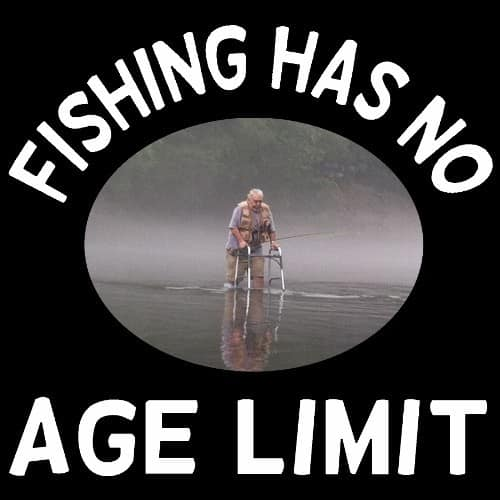 Fishing Has No Age Limit