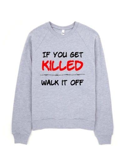 If You Get Killed fleece (grey)