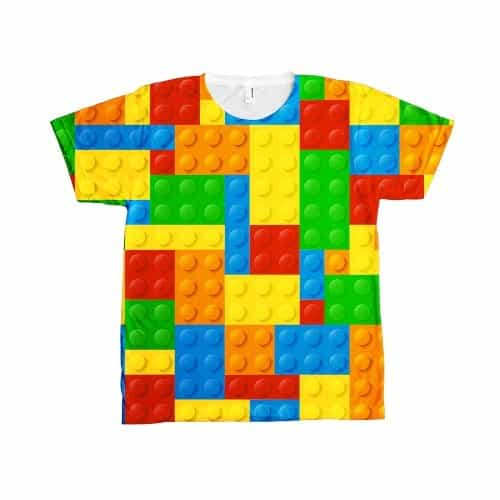 Allover Lego T-shirt (Unisex)
