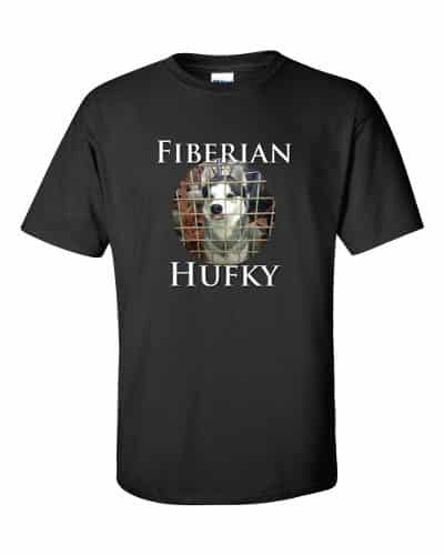 Fiberian Hufky T-shirt (black)