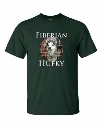 Fiberian Hufky T-shirt (forest)