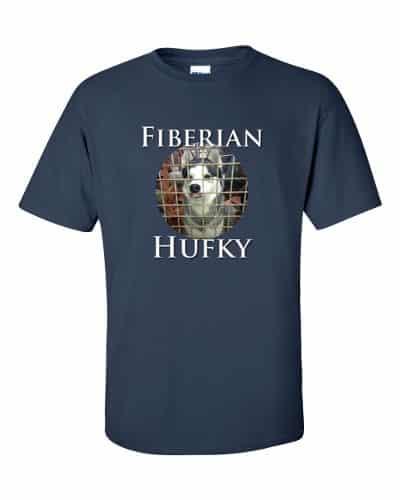 Fiberian Hufky T-shirt (navy)