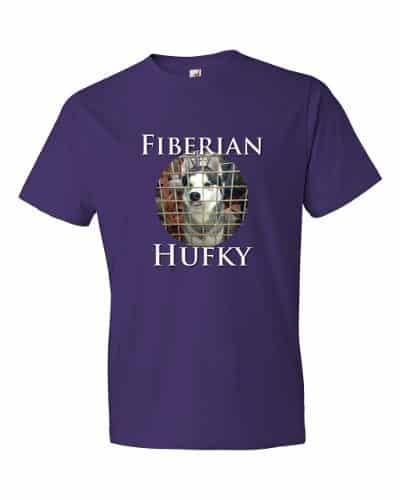 Fiberian Hufky T-shirt (purple)