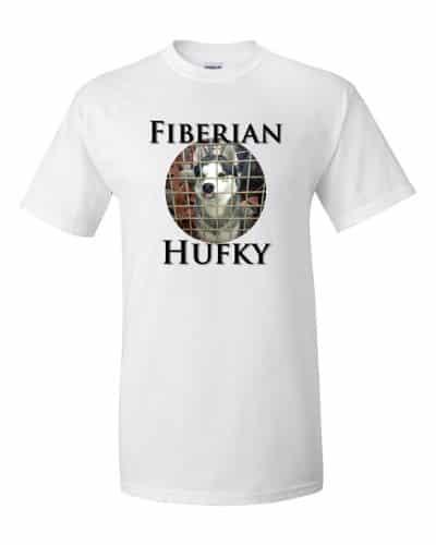 Fiberian Hufky T-shirt (white)