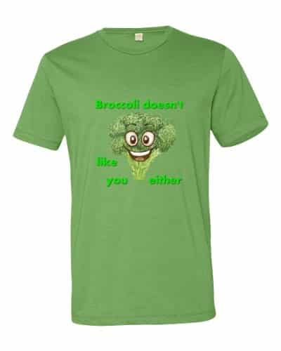 Broccoli Doesn't Like You Either (grass)