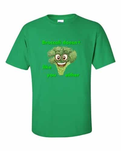 Broccoli Doesn't Like You Either (shamrock)