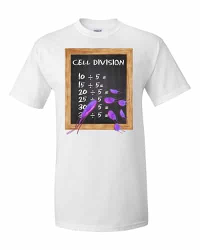 Cell Division T-Shirt (white)