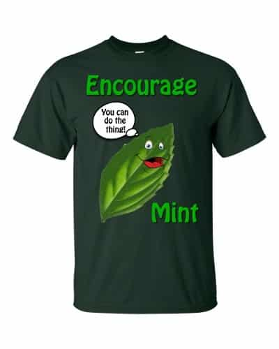 Encourage Mint T-Shirt (forest)
