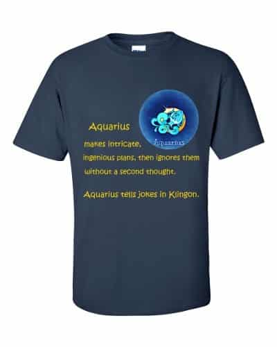 Aquarius T-Shirt (navy)