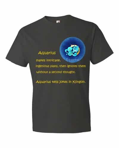 Aquarius T-Shirt (smoke)