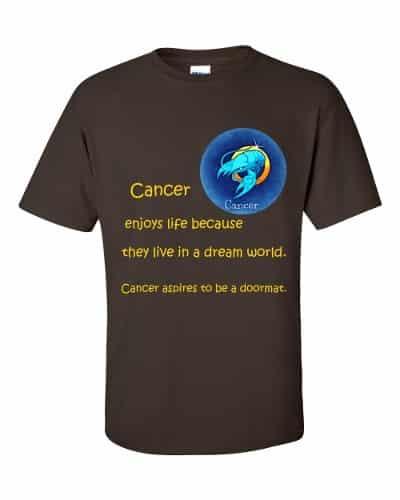 Cancer T-Shirt (chocolate)