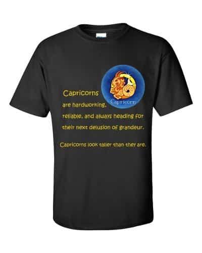 Capricorn T-Shirt (black)