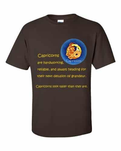 Capricorn T-Shirt (chocolate)
