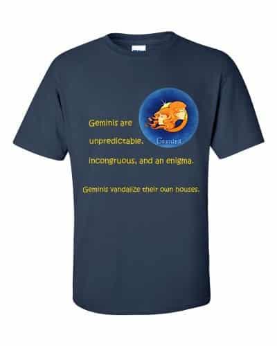 Gemini T-Shirt (navy)