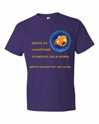 Gemini T-Shirt (purple)