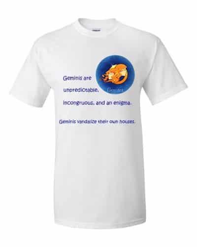 Gemini T-Shirt (white)