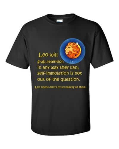 Leo T-Shirt (black)