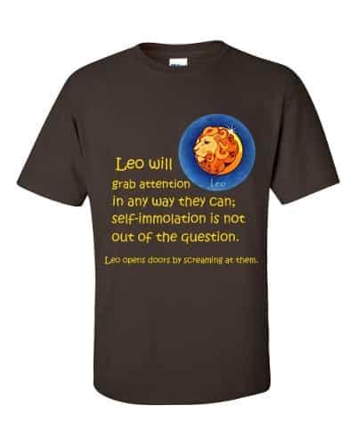 Leo T-Shirt (chocolate)