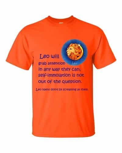 Leo T-Shirt (orange)