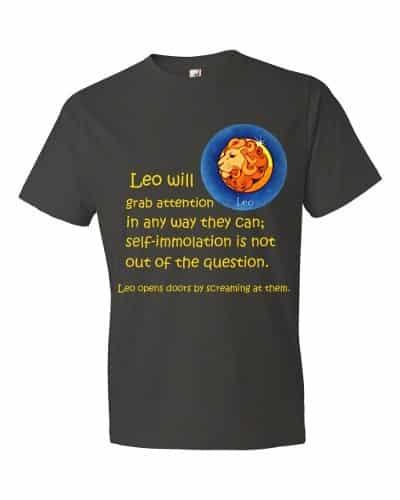 Leo T-Shirt (smoke)