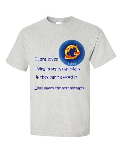 Libra T-Shirt (ash)