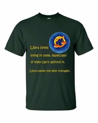 Libra T-Shirt (forest)