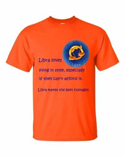 Libra T-Shirt (orange)