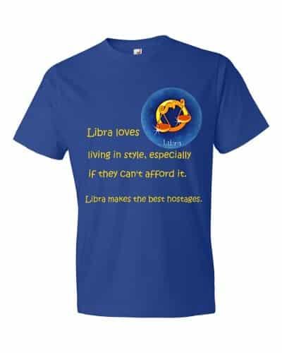 Libra T-Shirt (royal)