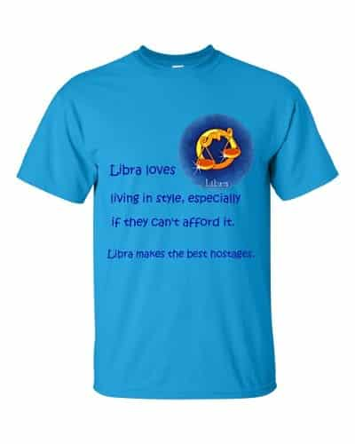 Libra T-Shirt (sapphire)