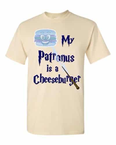 My Patronus is a Cheeseburger T-Shirt (natural)