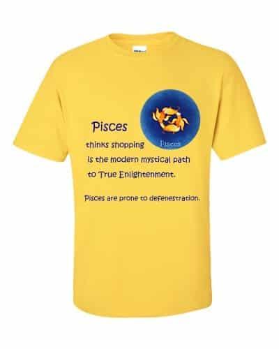 Pisces T-Shirt (daisy)