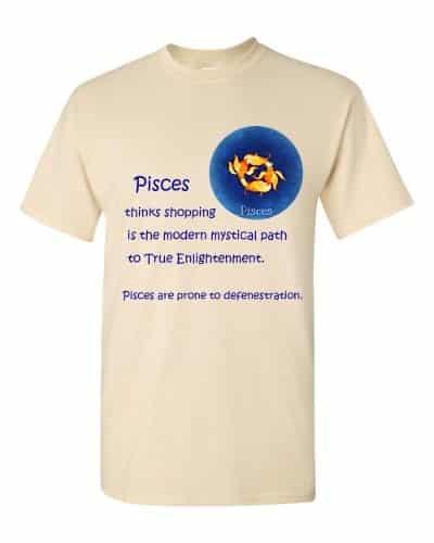 Pisces T-Shirt (natural)