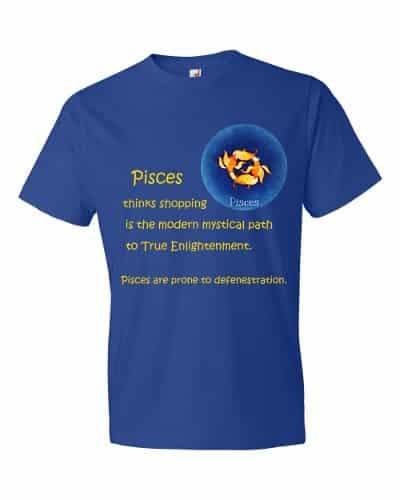 Pisces T-Shirt (royal)