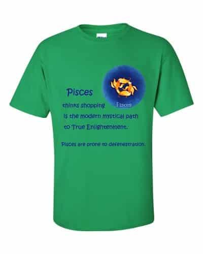 Pisces T-Shirt (shamrock)