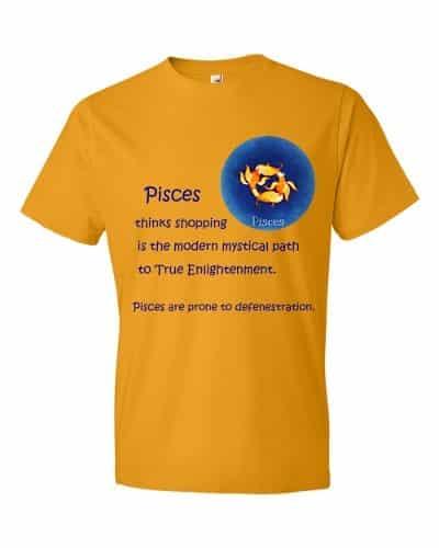 Pisces T-Shirt (tangerine)