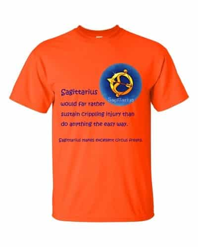 Sagittarius T-Shirt (orange)