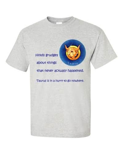 Taurus T-Shirt (ash)