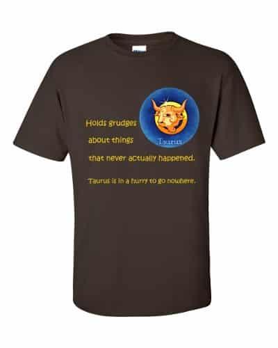 Taurus T-Shirt (chocolate)