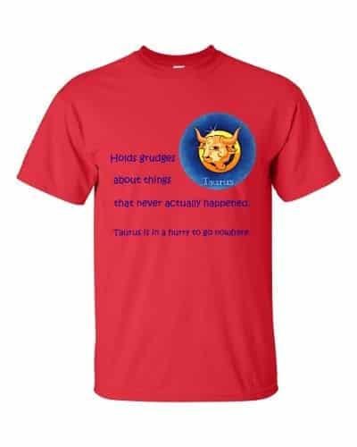 Taurus T-Shirt (red)