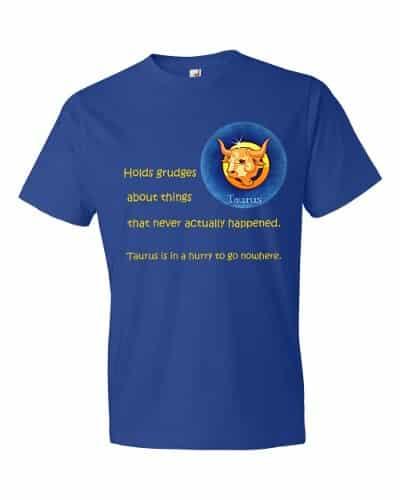 Taurus T-Shirt (royal)