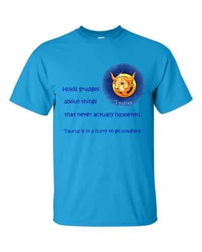 Taurus T-Shirt (sapphire)