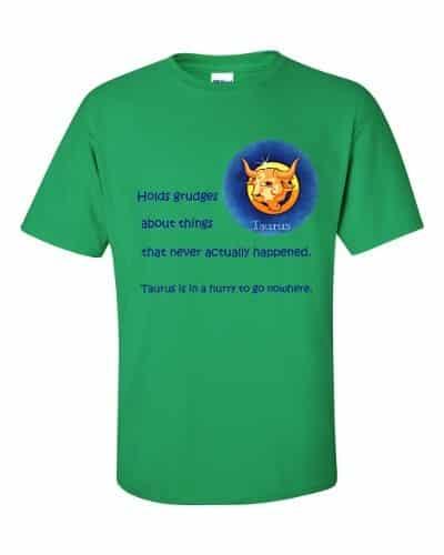 Taurus T-Shirt (shamrock)