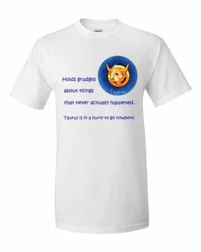 Taurus T-Shirt (white)