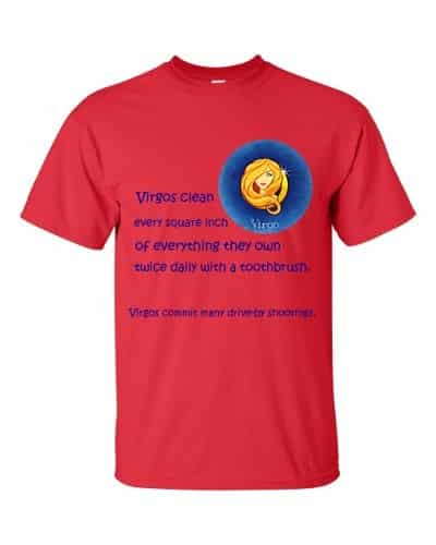 Virgo T-Shirt (red)