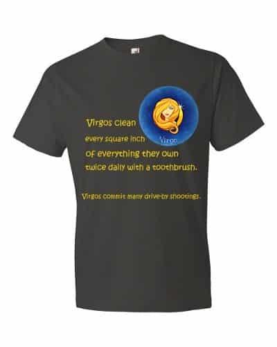 Virgo T-Shirt (smoke)