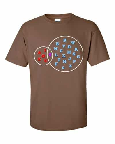 AlphaVenn T-Shirt (chestnut)