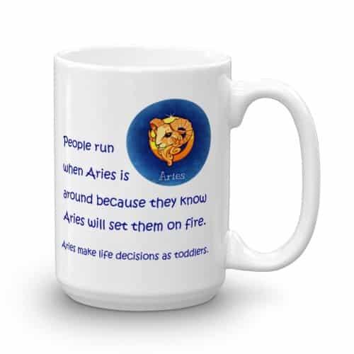 Aries Mug (15 oz)